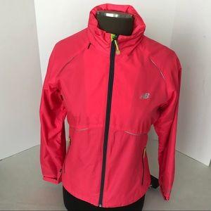 NWT New Balance Raincoat with Hoodie Size S